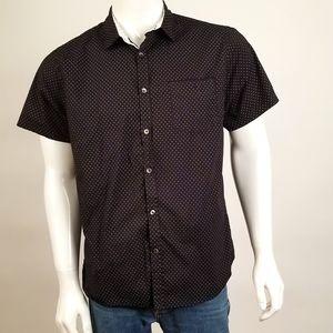 Men's designer button down shirt Size XL